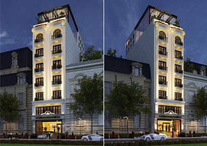 khách sạn 8 tầng