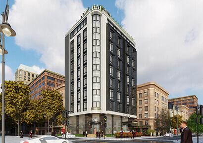 Thiết kế khách sạn 10 tầng
