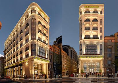 thiết kế khách sạn tại Hà Nôi