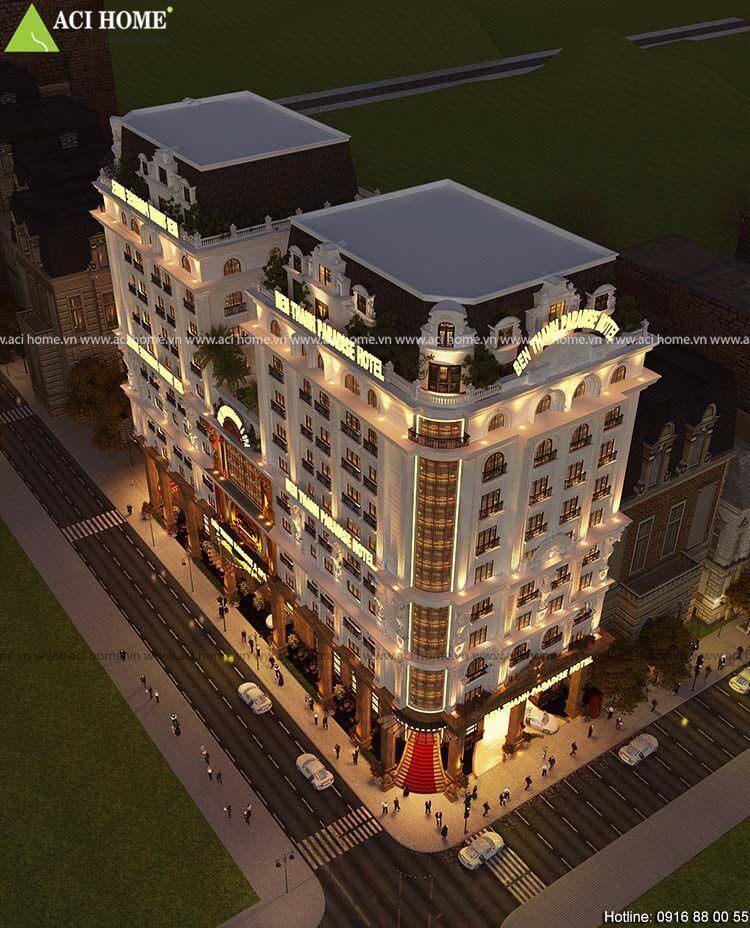 Khách sạn Ben Thanh Paradise Hotel