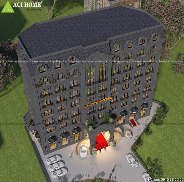 La ViTa thiết kế theo kiến trúc cổ điển