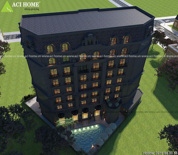 khách sạn trên đường Lê Hồng Phong