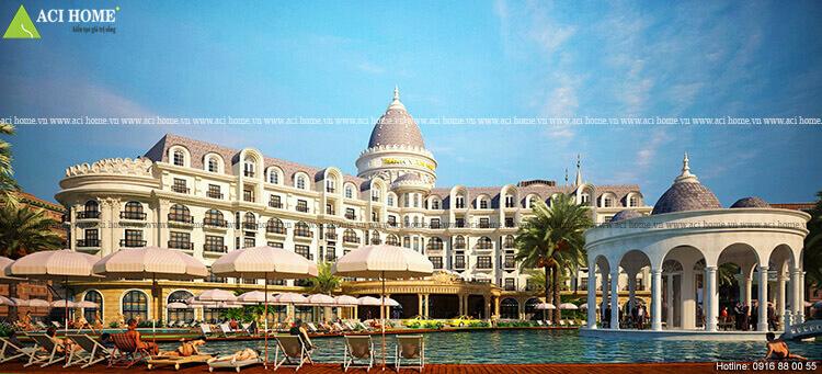 khách sạn tại Hải Tiến