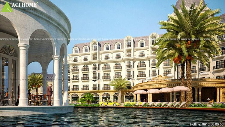 thiết kế khách sạn Thanh Vân