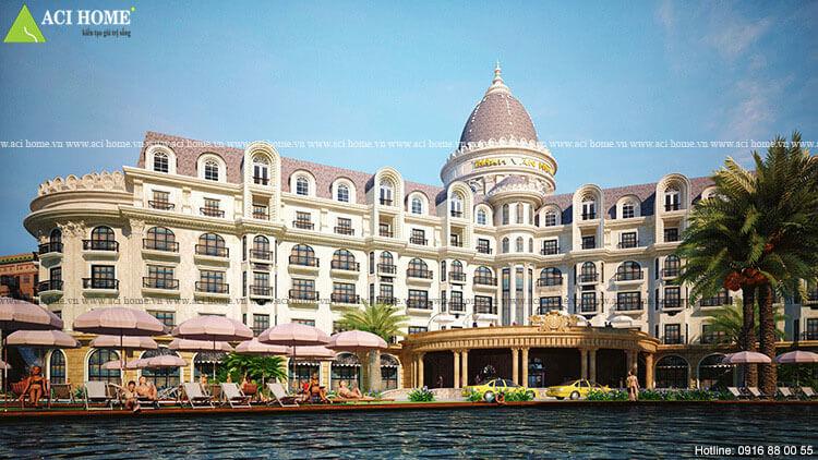 một góc khách sạn Thanh Vân Hotel