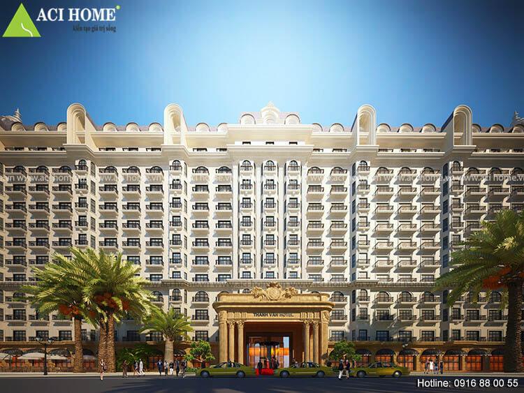 mặt tiền khách sạn Thanh Vân
