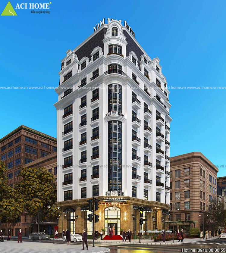 khách sạn 10 tầng