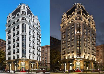 mẫu khách sạn 10 tầng tại Hạ Long