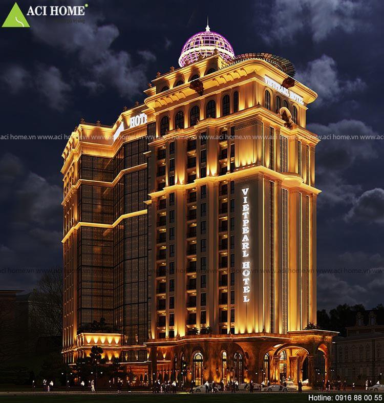 công trình khách sạn 17 tầng