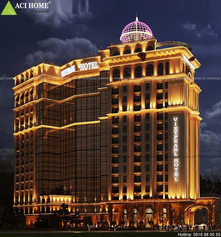 Khách sạn mặt tiền rộng 20m