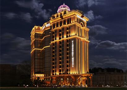 Mẫu khách sạn 17 tầng