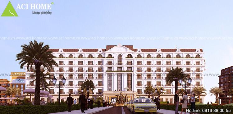 Khách sạn đẹp phong cách cổ điển