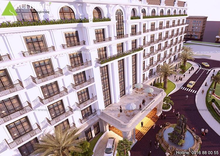 Kiến trúc khách sạn cổ điển