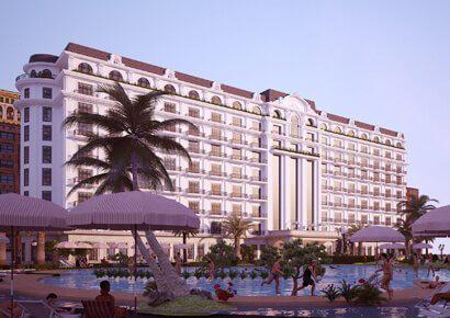 Khách sạn cổ điển 9 tầng