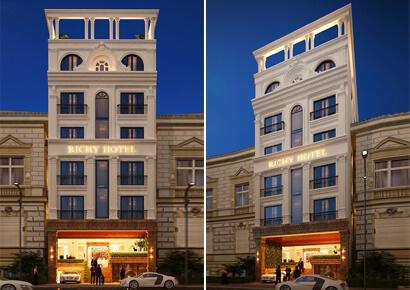 thiết kế khách sạn tại Pleiku