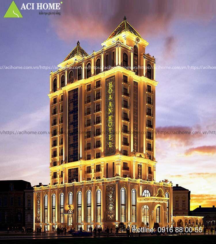 khách sạn Hoa An 13 tầng