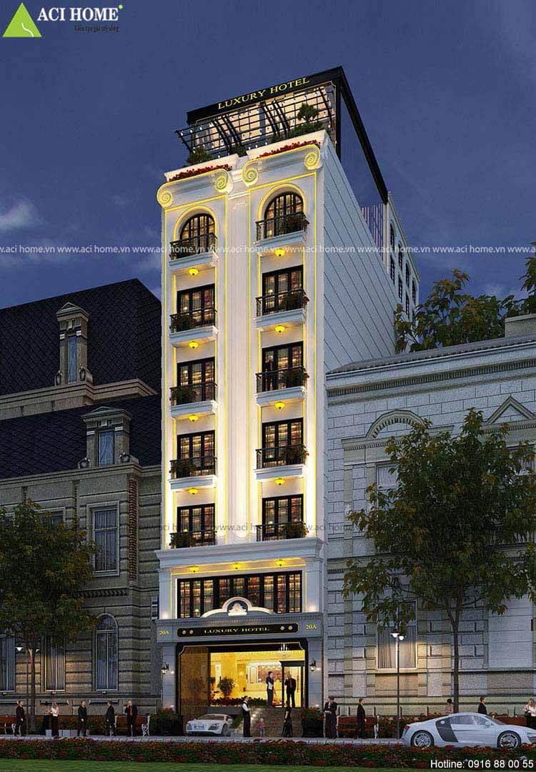 Thiết kế khách sạn quận 1