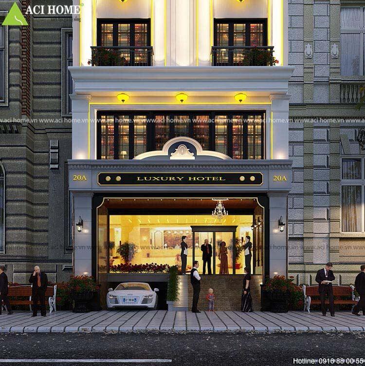 sảnh chính khách sạn Luxury Quận 1
