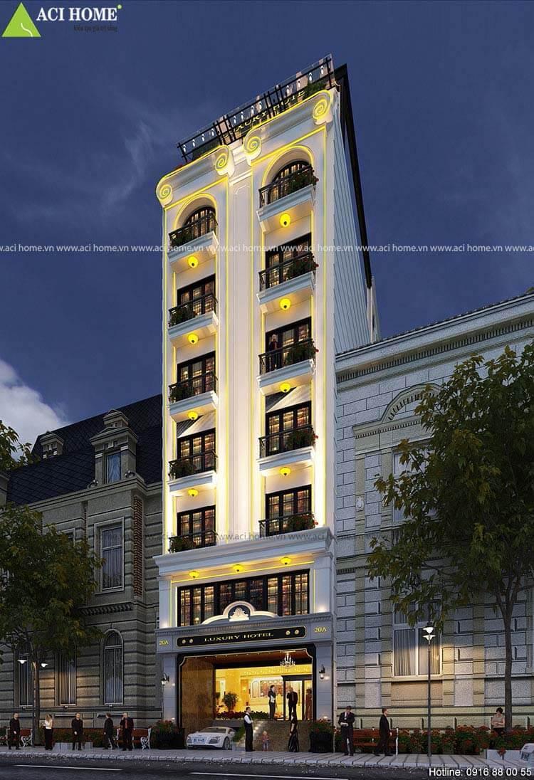 khách sạn Luxury Hotel