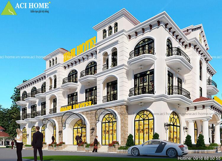 Khách sạn kiến trúc tân cổ điển