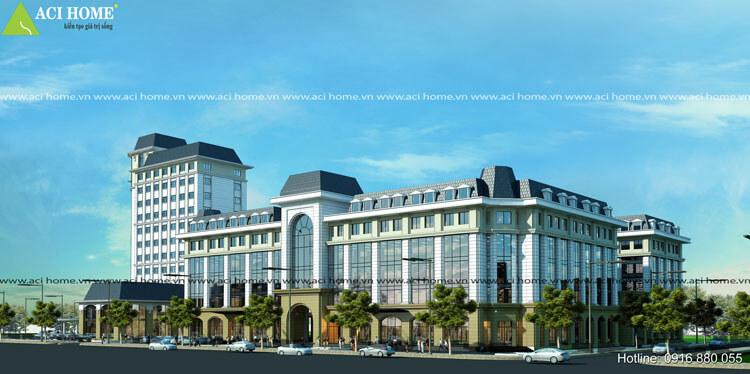 trung tâm thương mại tại Hưng Yên