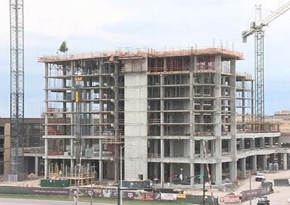 Thi công xây dựng khách sạn địa trung hải