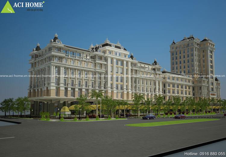 hình ảnh công trình khách sạn trước thi công