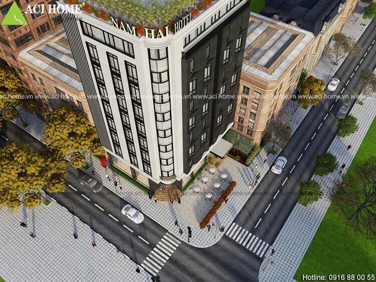 khách sạn 10 tầng tại Hoàng Hóa