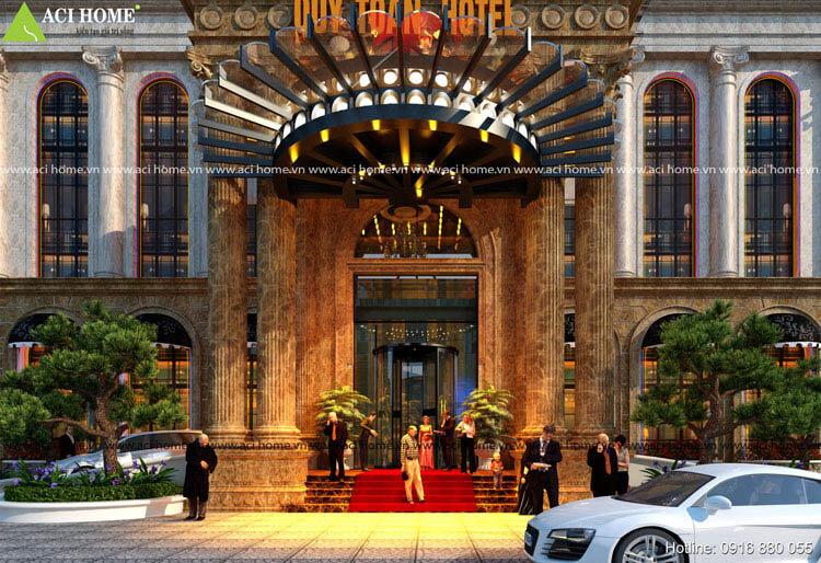 tiền sảnh khách sạn đẹp
