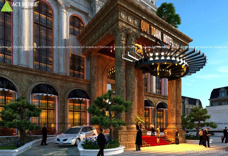 khách sạn mặt tiền đẹp