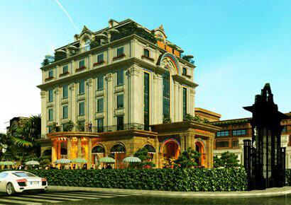 thiết kế khách sạn tại Bắc Ninh