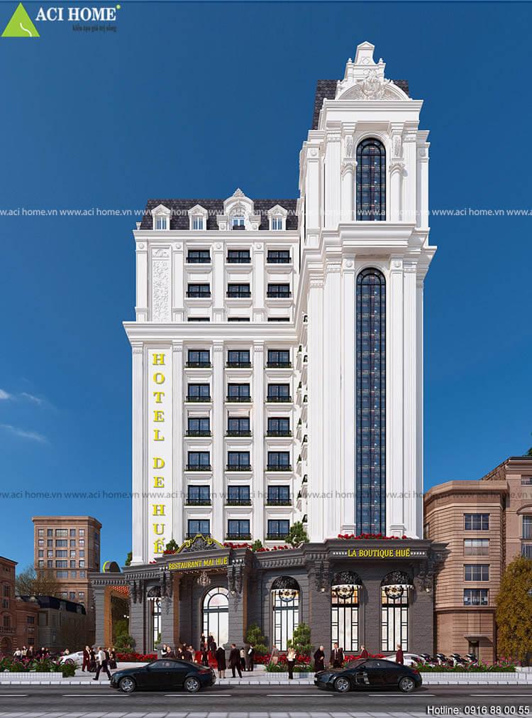 khách sạn cổ điển 3 sao