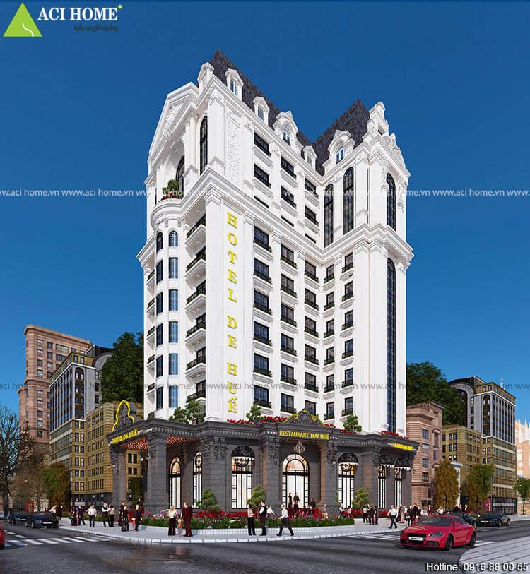 khách sạn 3 sao 13 tầng