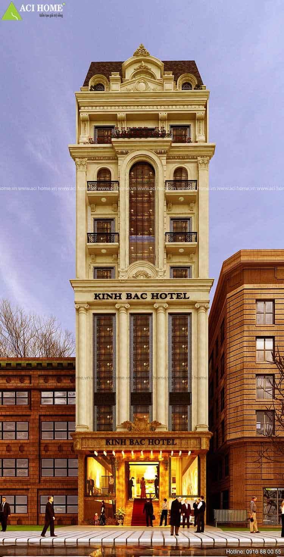 Thiết kế khách sạn mini 200m kinh băc Hotel