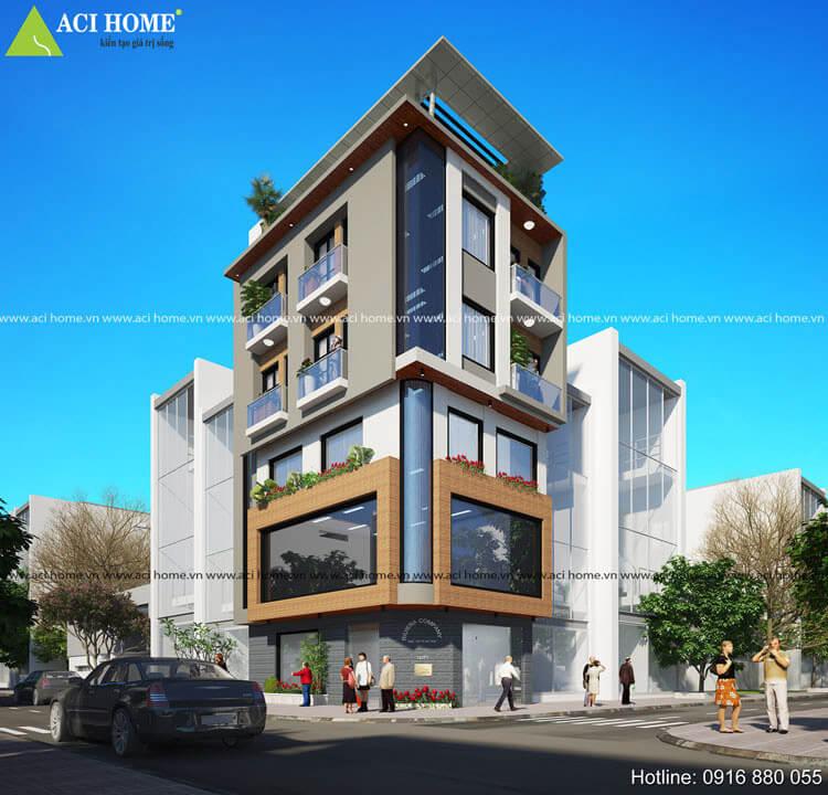 thiết kế tòa nhà văn phòng luật