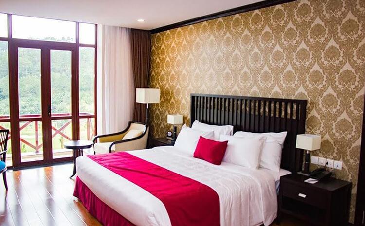 phòng nghỉ khách sạn Đà Lạt