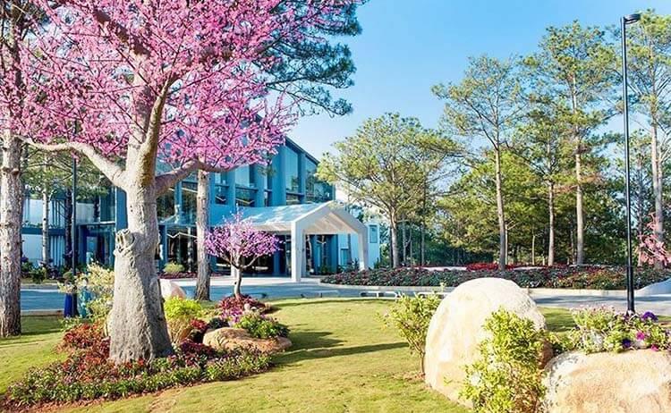 kiến trúc khách sạn Đà Lạt