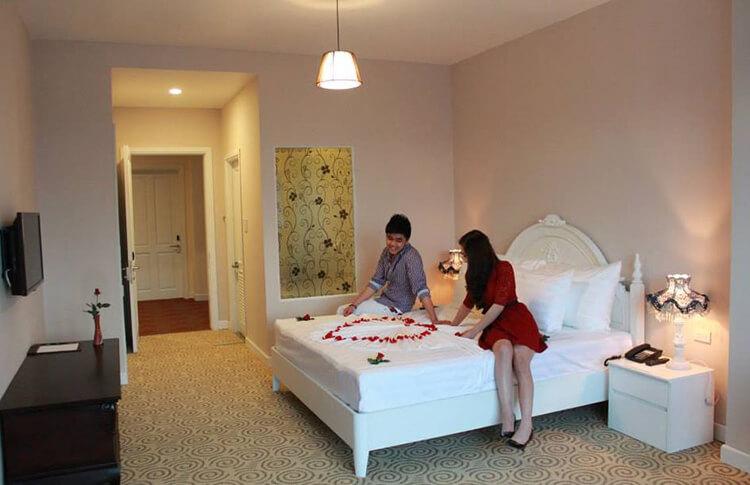 phòng ngủ Honeymoon