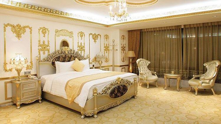 thiết kế giường khách sạn 5 sao