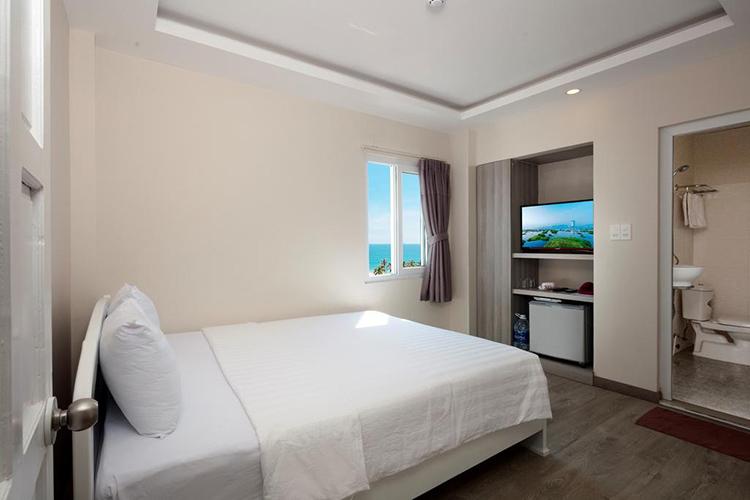phòng ngủ khách sạn Zen Hotel