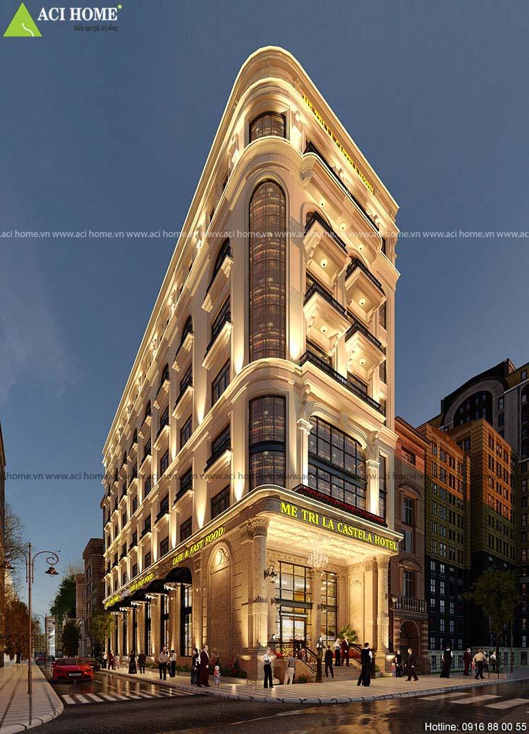 xây dựng khách sạn Boutique Hà Nội
