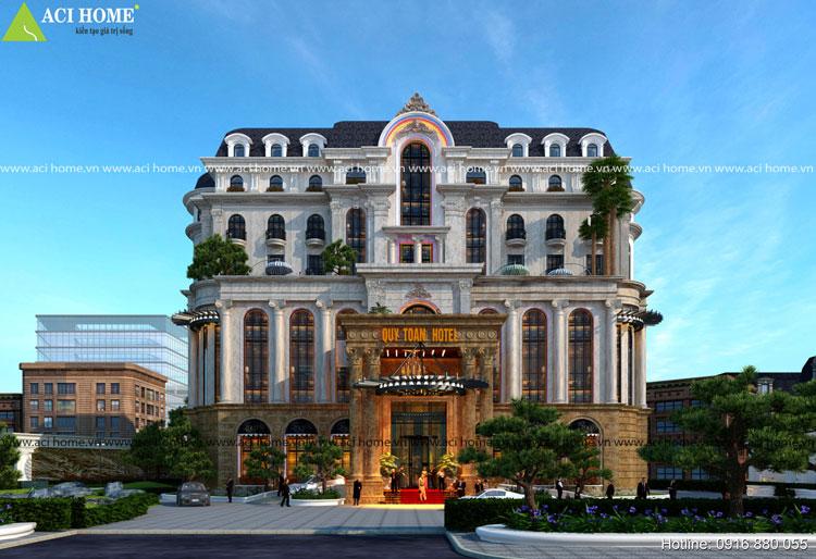 Quý Toàn Hotel - Khách sạn cổ điển 4 sao uy nghi