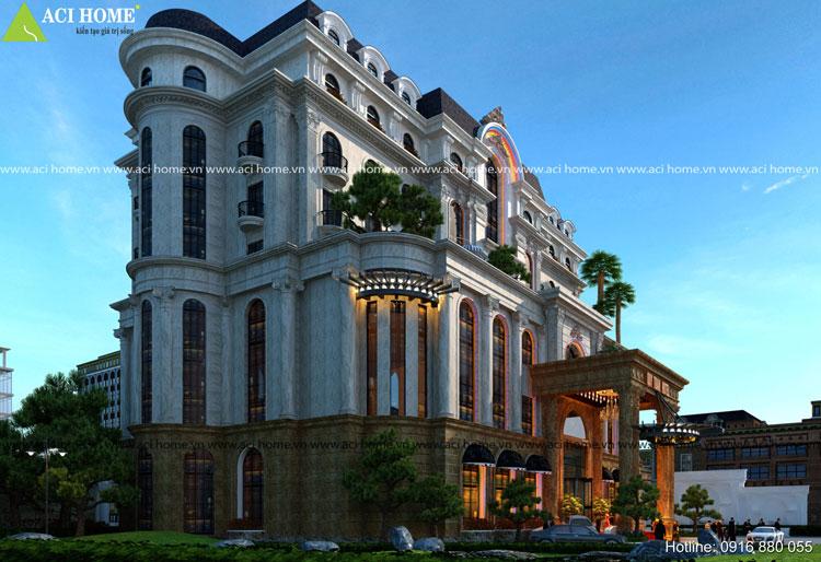 Thiết kế khách sạn cổ điển 4 sao đẹp nhất