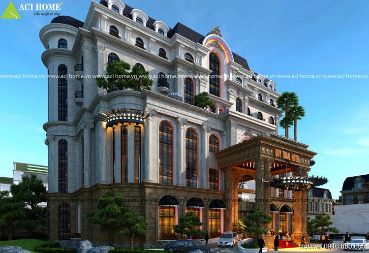 Thiết kế khách sạn 4 sao tại Nghệ An