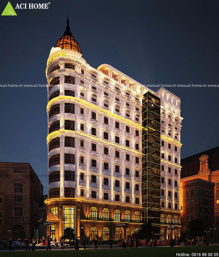 Khách sạn kết hợp trung tâm thương mại tại Đà Nẵng