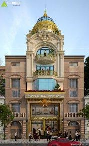 SHOPHOUSE : kiến trúc Pháp 4,5 tầng kết hợp kinh doanh tại Lào Cai