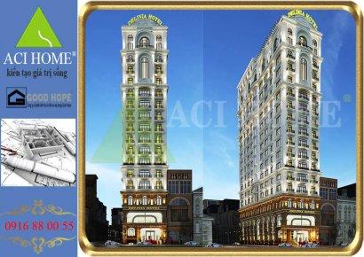Delinia Nha Trang : Khách sạn với kiến trúc Pháp đơn giản nhưng đem lại hiệu quả kinh doanh cao.