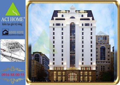 ERO HOTEL : Thiết kế khách sạn 4 sao đẹp thi vị giữa lòng thủ đô.