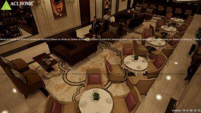 Thiết kế nội thất shophouse : Khách sạn 3 sao tinh tế, chuẩn mực tại Cầu Giấy – Hà Nội.